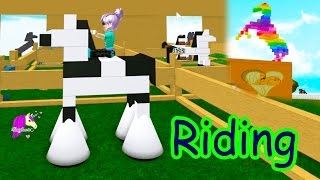 I'm A Horse - Random Wild Riding Horses Let's Play Online Roblox Games avec Honeyheartsc