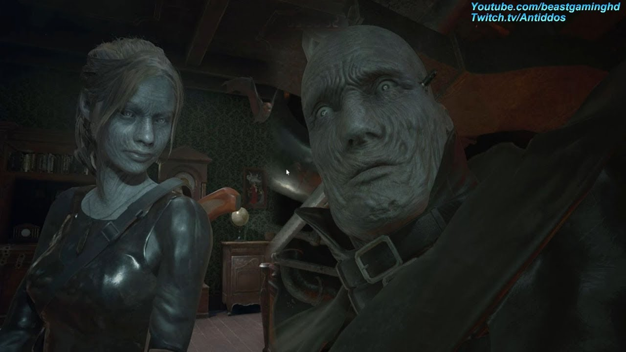 Resident Evil 2 Remake Ms X Meets Mr X Read Desc Youtube