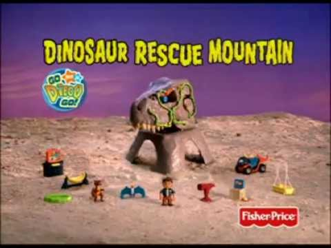 Dino Adventures - Diego Dinosaur Rescue Mountain - TV Toy Commercial - Fisher Price
