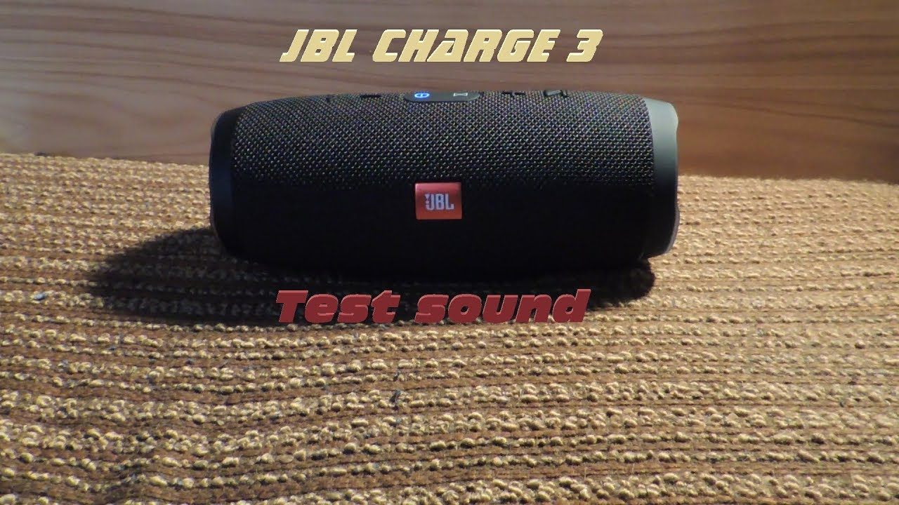 JBL Charge 3 - update firmware 7 3 0 - better sound 🎶