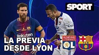 PREVIA OLYMPIQUE DE LYON - FC BARCELONA | VLOG DE LA IDA DE OCTAVOS DE FINAL DE LA CHAMPIONS LEAGUE