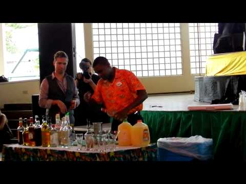 Isaac Hanson's Mixology class at Back to the Island 1