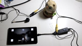 UVC USB AV Android Capture Card  with BackUp camera ( Rear View)  directly connect  Nexus 7
