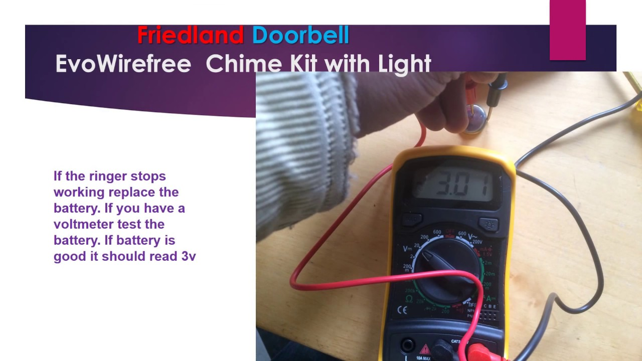 Friedland Doorbell Youtube Door Chimes Wiring Diagram Premium