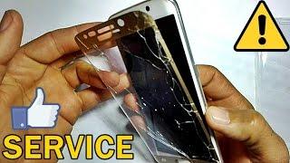 CUM SA MONTEZI O FOLIE DE STICLA LA TELEFON S6 EDGE | SERVICE EPISODUL 3