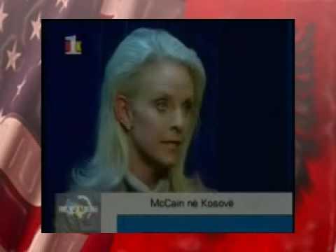 McCain in Kosovo