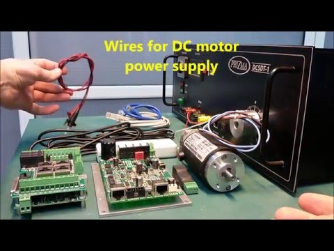 DC servo motor drive DCS-3010 step by step installation guide