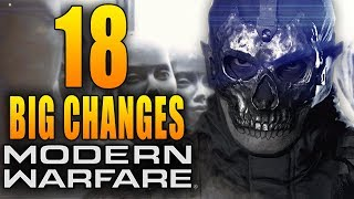 Modern Warfare: 18 Big Changes in Today's Update!