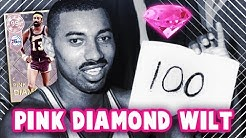 48dbfd7e5 NBA 2K18 PINK DIAMOND 99 OVERALL WILT CHAMBERLAIN COMING    100 POINT GAME