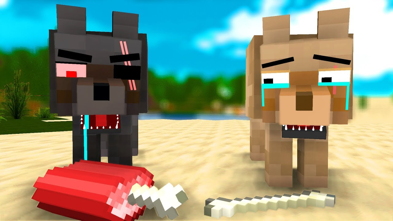 Girl And Boy Together Wallpaper Wolf Life 10 Craftronix Minecraft Animation Youtube