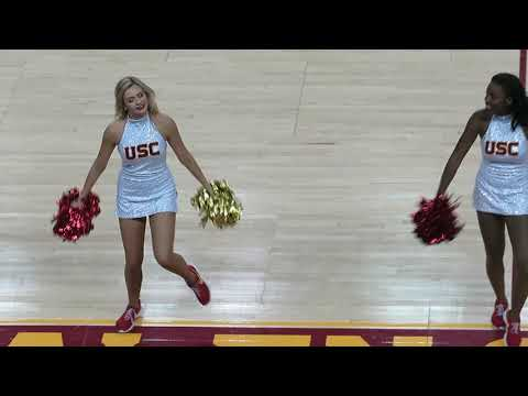 trojancandy.com:  The USC Song Girls Perform at the Women of Troy Basketball Game vs. Colorado