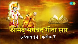 भगवद गीता सार अध्याय 14 श्लोक 7with lyrics   Bhagvad Geeta Chapter 14 sholk 7  Shailendra Bharti