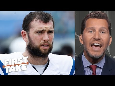 Andrew Luck is overrated and isnt what the Colts expected - Will Cain | First Take