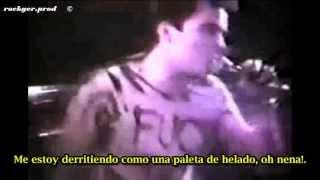 Dead Kennedys Too Drunk to Fuck (subtitulado español)