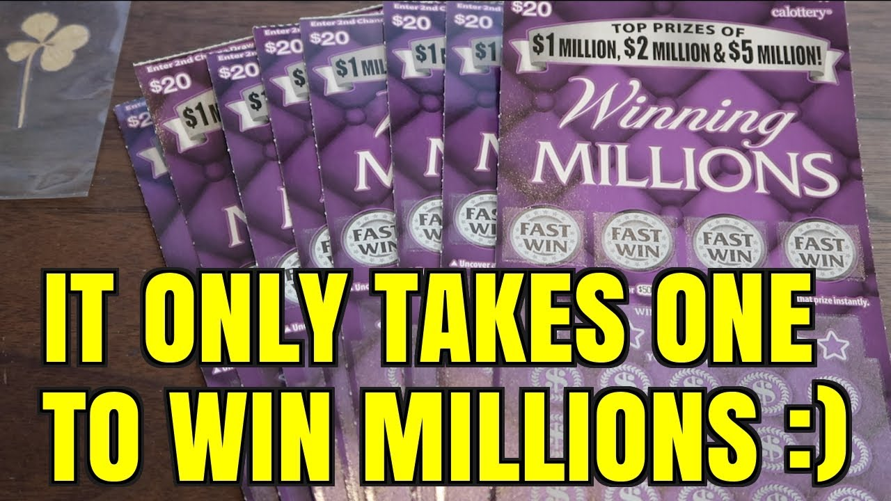 IS TODAY THE DAY OF MILLION DOLLAR WINS? Winning Millions $20 Scratcher