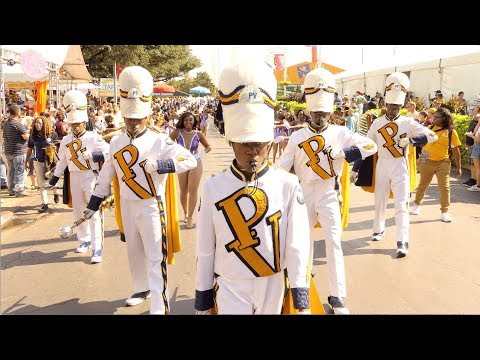 PVAMU Band Marching into State Fair Classic (2017) [4K]