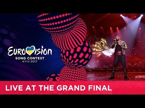 Joci Pápai - Origo (Hungary) LIVE at the Grand Final of the 2017 Eurovision Song Contest