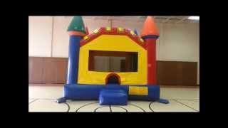 Mega Fortress Moonwalk Rental - Chicago Bounce House Rentals
