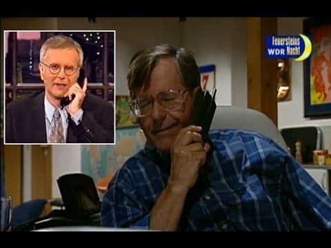 Herbert Feuerstein telefoniert mit Harald Schmidt ...