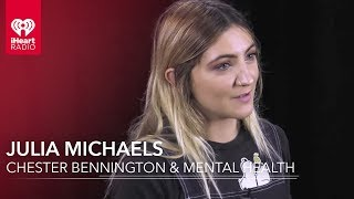 Julia Michaels Opens Up About Chester Bennington & Mental Health | Exclusive Interview