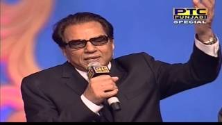 Anchors invite dharmendra for the lighting of lamp | ptc punjabi film awards 2014