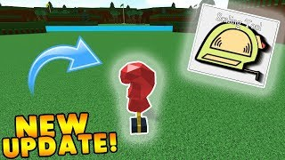 *NEW UPDATE* SCALING TOOL, BLOXING GLOVE! | Build A Boat For Treasure ROBLOX
