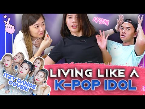 Singaporeans Try: Living A K-pop Idol Trainee's Life For 24H