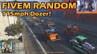 The Fastest Dozer In The World! - GTA FiveM Random Racing Live #6