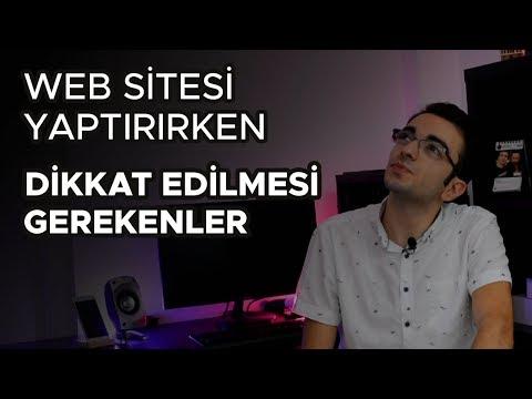 Web Sitesi Yaptırırken