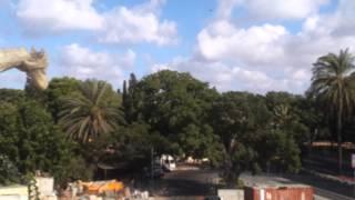 Así se ve un cohete en Israel por Jesús Alberto Yajure