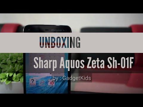 Sharp Aquos Zeta Sh-01F : 600ribuan Sudah Dapet Kamera 4k !!#sobekpaket