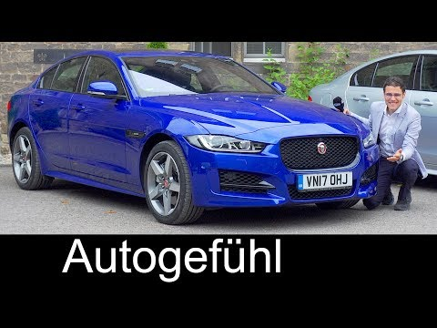 Jaguar XE R-Sport FULL REVIEW test driven Ingenium 25t AWD 2018 - Autogefühl