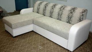 Сделать угловой диван своими руками 1 часть.(Подробное видео сборки домашнего дивана, начиная с каркаса и заканчивая обтягиванием его тканью., 2016-02-24T02:01:11.000Z)