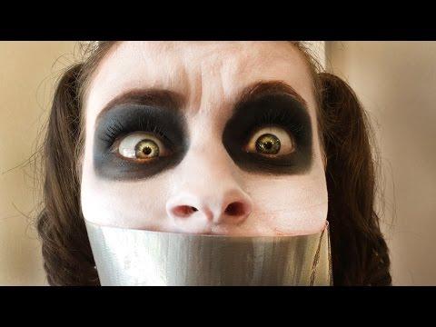 Taping Joker Girls Mouth Shut!?! Crazy Superhero Spiderman Joke