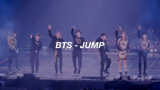 BTS - JUMP Easy Lyrics