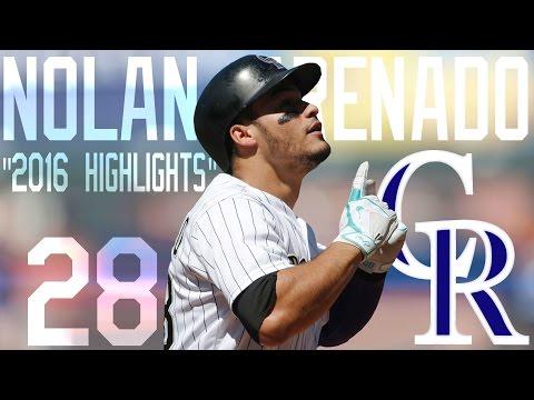 Nolan Arenado | Colorado Rockies | 2016 Highlights Mix ᴴᴰ