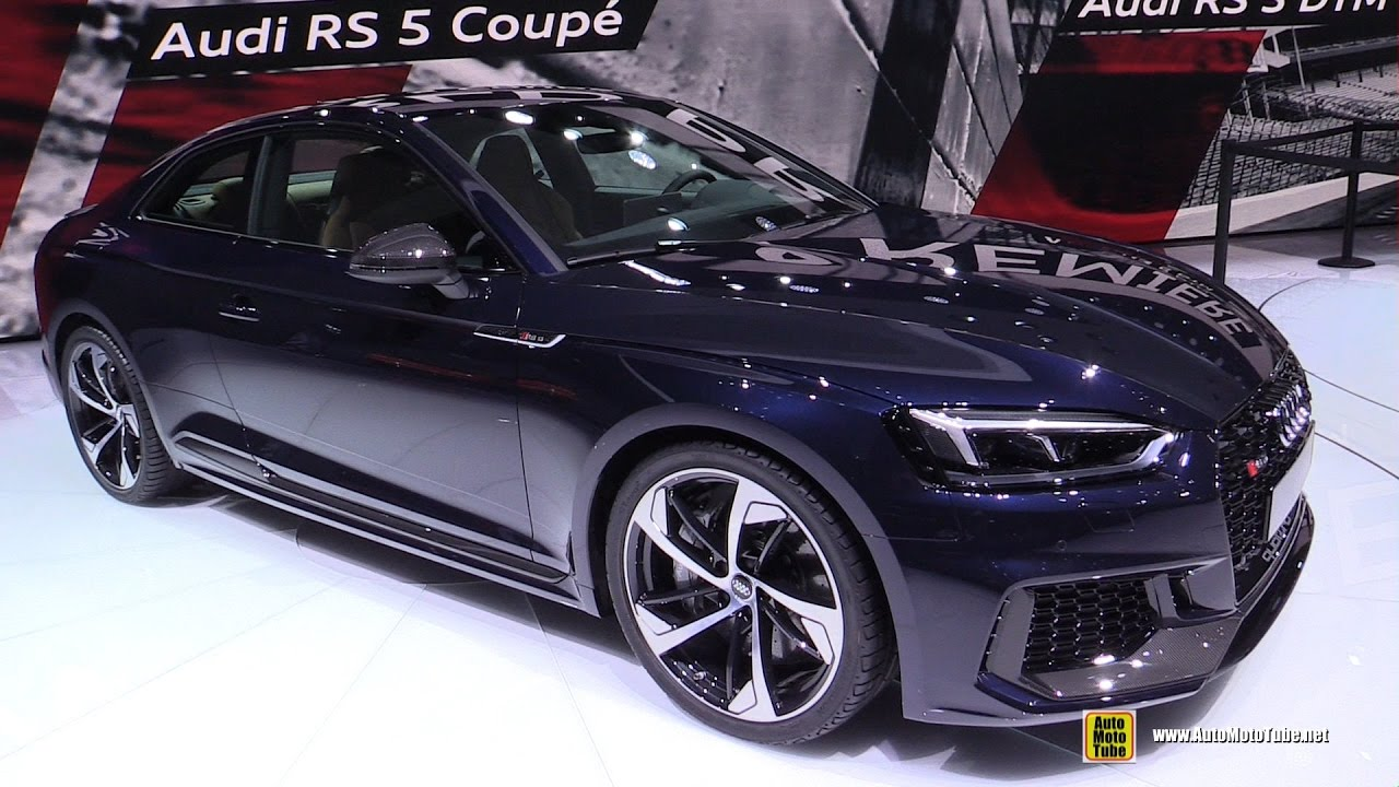 2017 Audi Rs5 Coupe Exterior And Interior Walkaround Geneva Motor Show