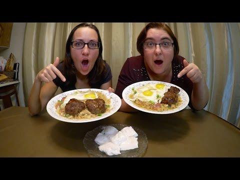 Hawaiian Loco Moco And Haupia | Gay Family Mukbang (먹방) - Eating Show