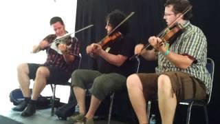 Quebecois Fiddle Workshop at Festival Mémoires et Racines