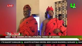 Meet The American Billionaire And39kingand39 Of Ghana