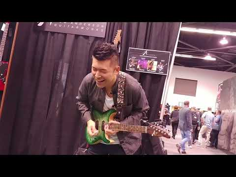 NAMM 2018 - Jason Kui live at the Tom Anderson booth