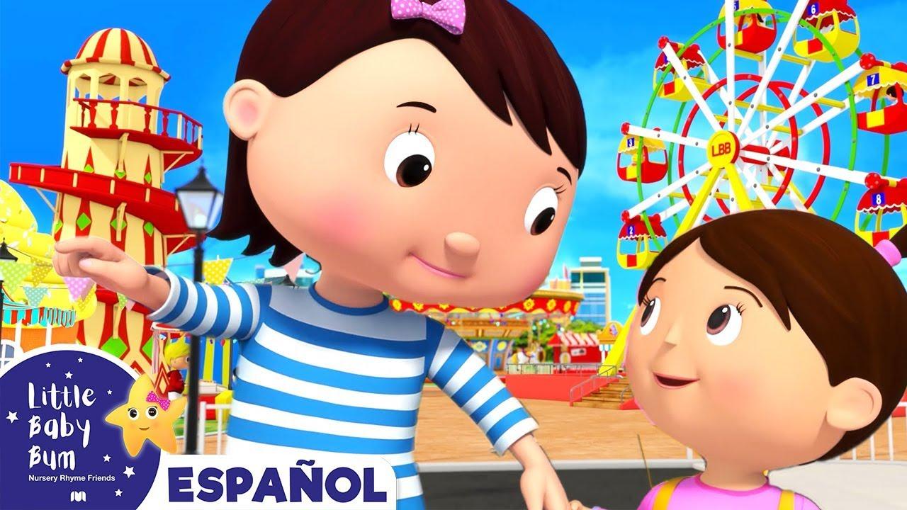 Diversión en la Feria - Canciones Infantiles | Dibujos Animados | Little Baby Bum en Español