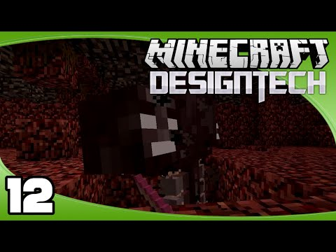 DesignTech - Ep. 12: Fighting the Wither | Minecraft Custom Modpack Let's Play