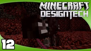 DesignTech - Ep. 12: Fighting the Wither   Minecraft Custom Modpack Let's Play