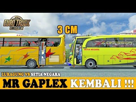 Mr Gaplex Kembali !!! Duel Sengit Setia Negara Vs Luragung Jaya - ETS2 Mod Indonesia - 동영상