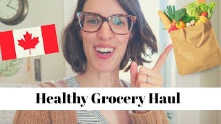 Healthy Grocery Haul on a Budget | Canada Grocery Haul with Meal Ideas