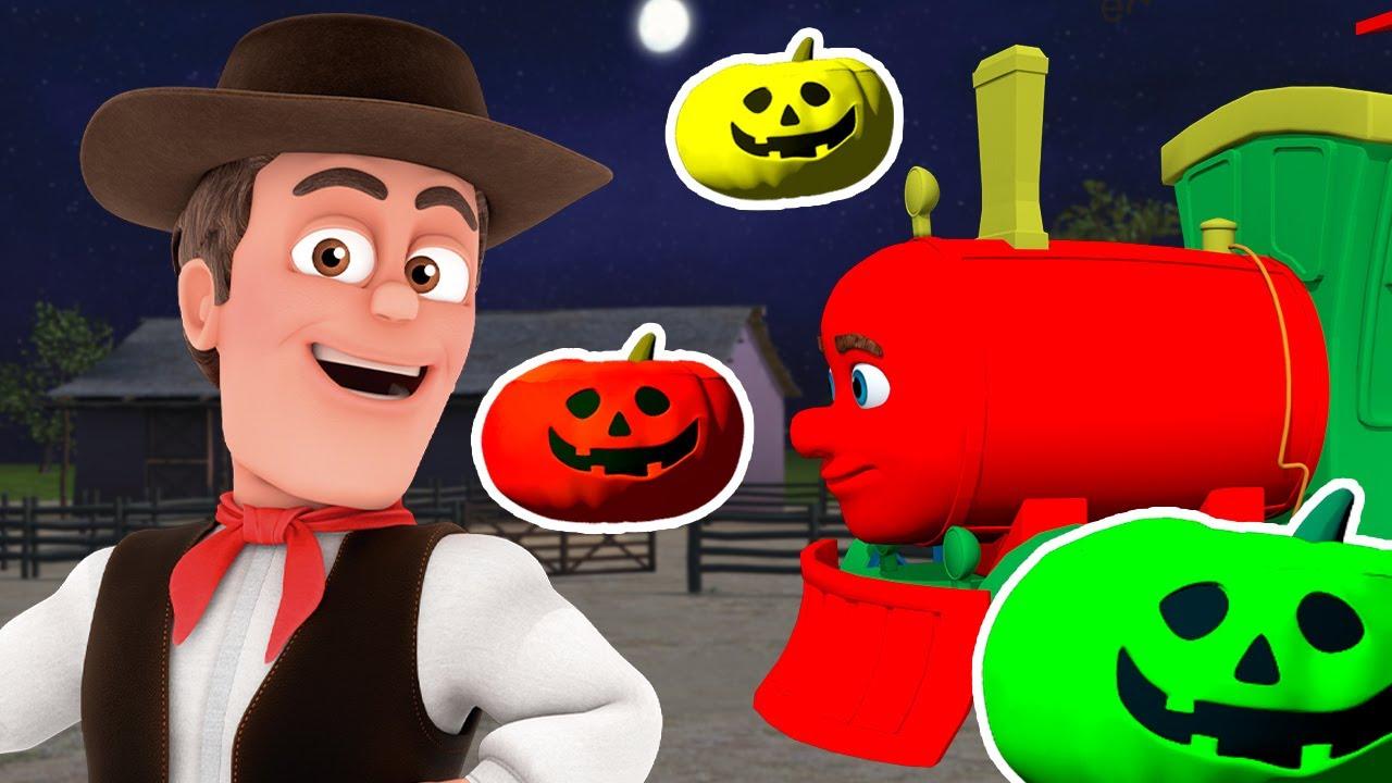 🎃 Especial Halloween 🎃 Tren de Colores de La Granja | La Granja de Zenón