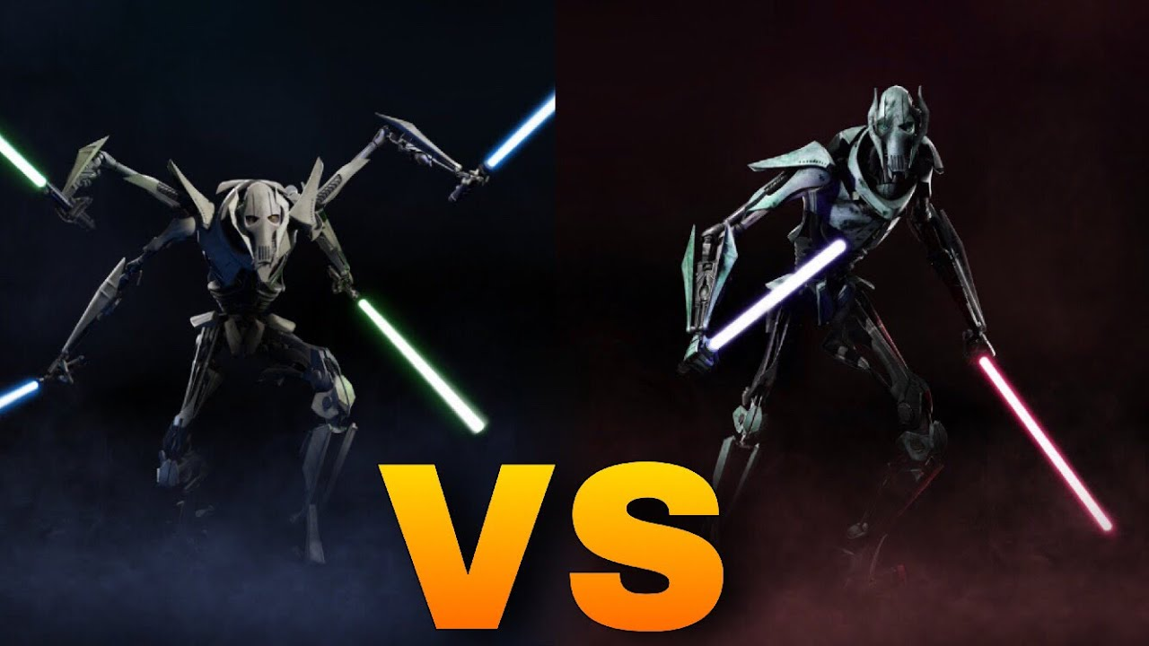 General Grievous Vs General Grievous Star Wars Episode 3 Revenge Of The Sith Video Game Youtube