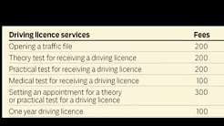 New Fee For UAE Driving Licence || 2018