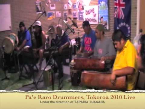 Cook Islands Drumming Live one (audio only)